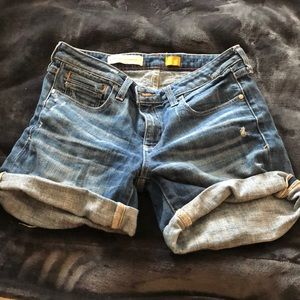 Anthro Jean shorts